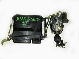 Блок управления двигателем комплект 1.6 мех Toyota Auris 06-12 (Тойота Аурис 06-12)  89661-02T42