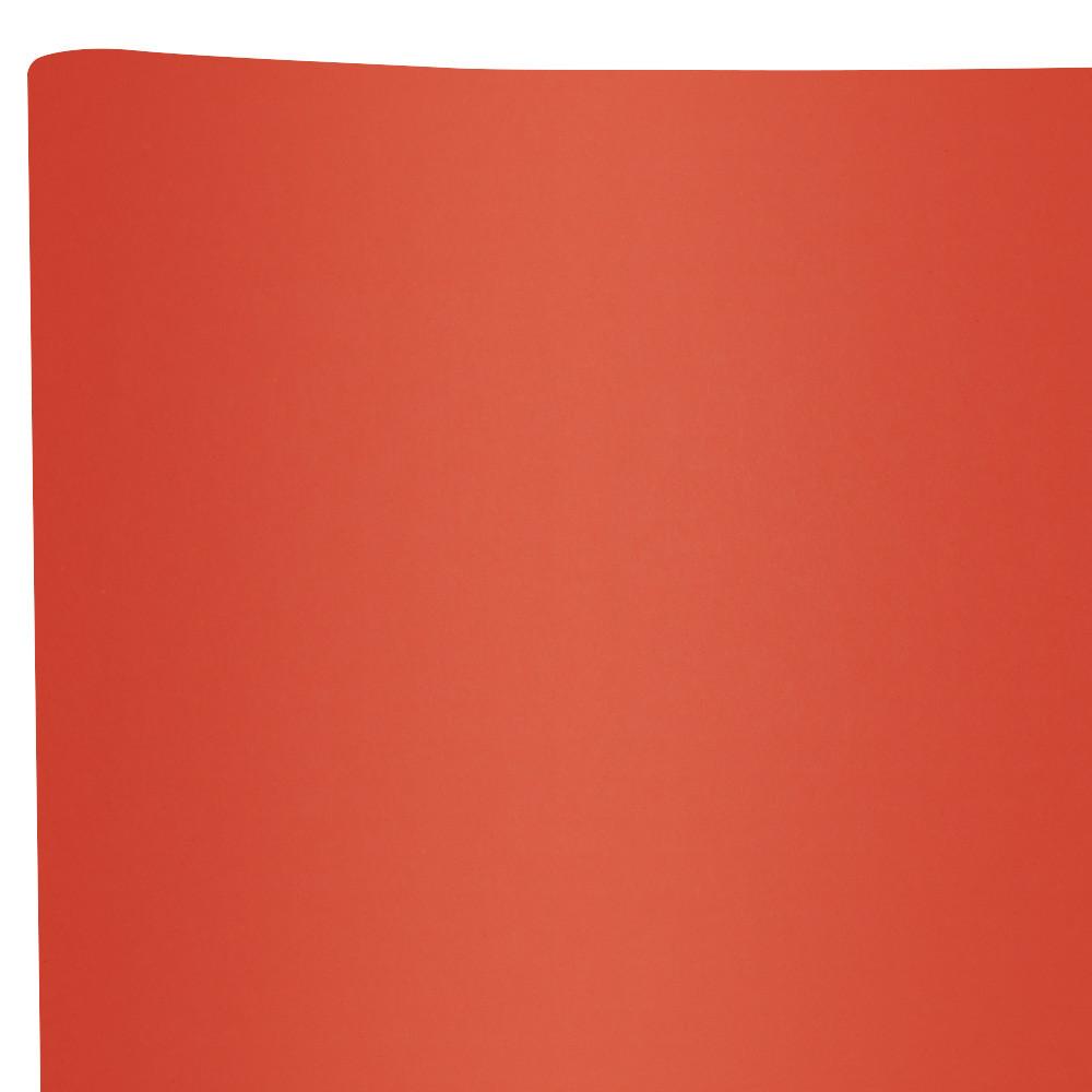 Бумага флористическая Сплошная красный кирпич
