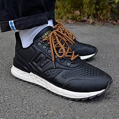 Мужские кроссовки New Balance Trailbuster Black ( Реплика )