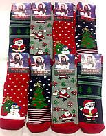 Носки женские махровые х/б Monteks ароматизированные Новый год НЖЗ-0181, фото 1