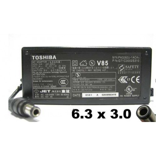 Блок питания Toshiba - 15V, 4.0A, 6.3x3.0