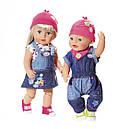 Набір одягу для ляльки BABY BORN - МОДНИЙ ДЖИНС (2 в асорт.), фото 2