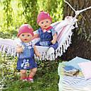 Набір одягу для ляльки BABY BORN - МОДНИЙ ДЖИНС (2 в асорт.), фото 4