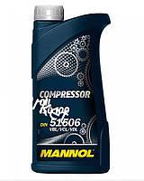 Масло   1л   (компрессионное, Compressor Oil ISO 100)   MANNOL