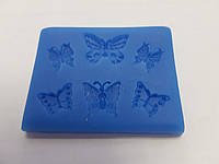 "Силиконовый молд ""Бабочки"" 6 шт (код 06512)"