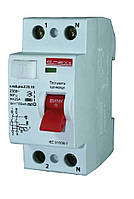 Вимикач диференціального струму E.NEXT e.rccb.stand.2.25.10 2р, 25А, 10mA
