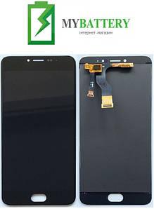 Дисплей (LCD) Meizu M3s (Y685Q/Y685H)/M3s mini с сенсором черный