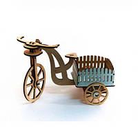 Велосипед деревянный