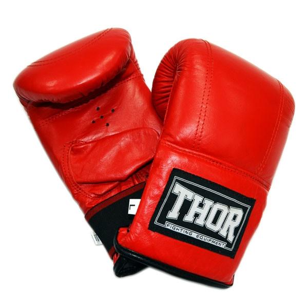 Снарядные перчатки THOR 606 (PU) RED