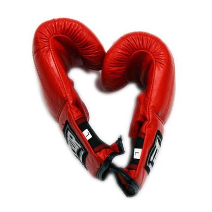 Снарядные перчатки THOR 606 (PU) RED, фото 2