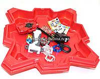 Игровой набор БейБлейдов  (Beyblade) с ареной (4 блейд, запускатель, ручка, арена), фото 6