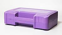 Футляр для аптечки пластиковий (первинний полімер) фіолетовий, фото 1