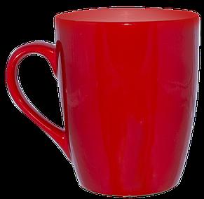 Кружка конус красная 320 мл, фото 2