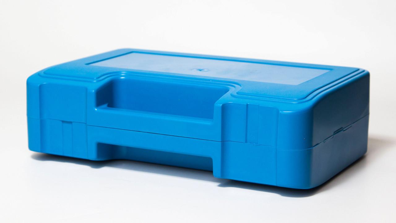 Футляр для аптечки пластиковий (первинний полімер) синій