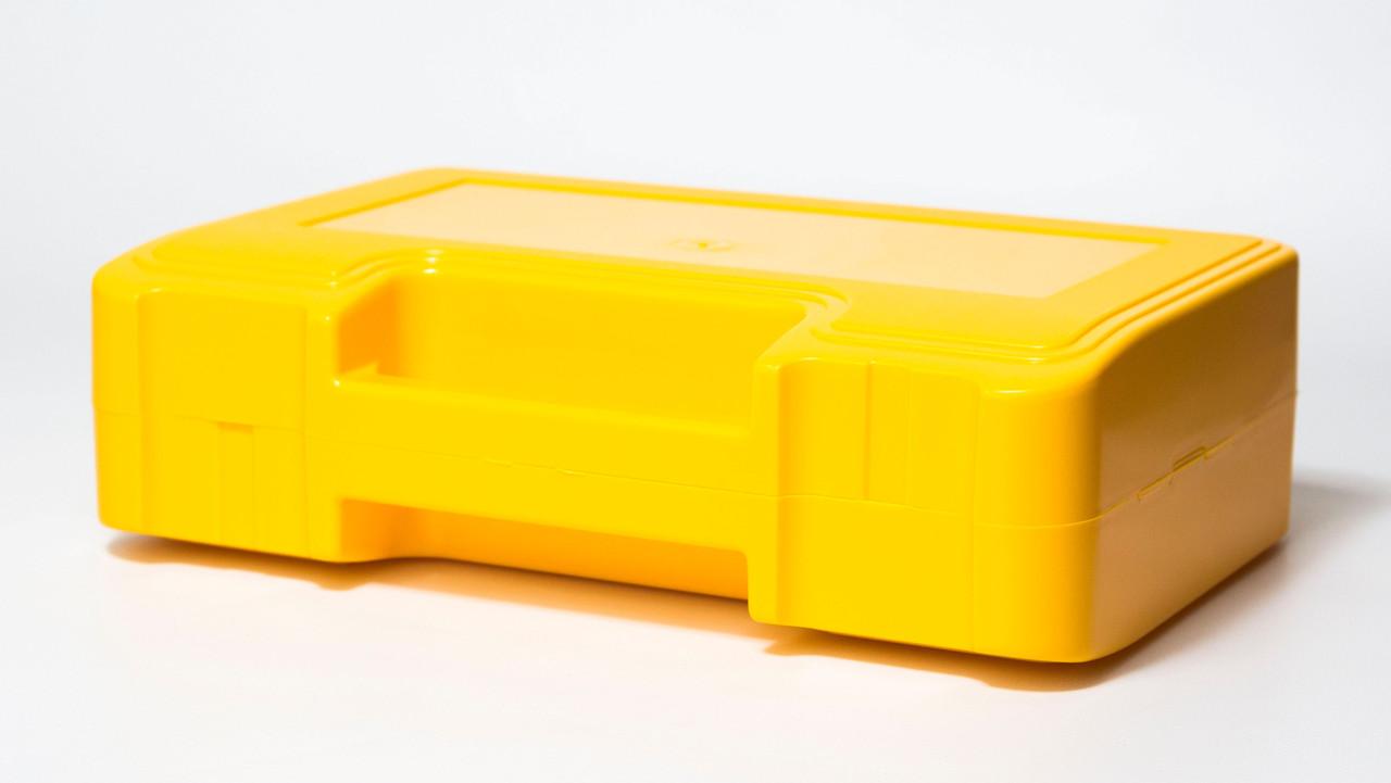 Футляр для аптечки пластиковий (первинний полімер) жовтий