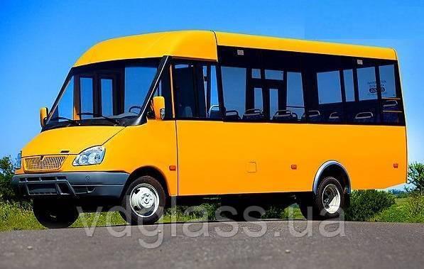 Лобовое стекло на автобус Рута 23, 25 (19 М)