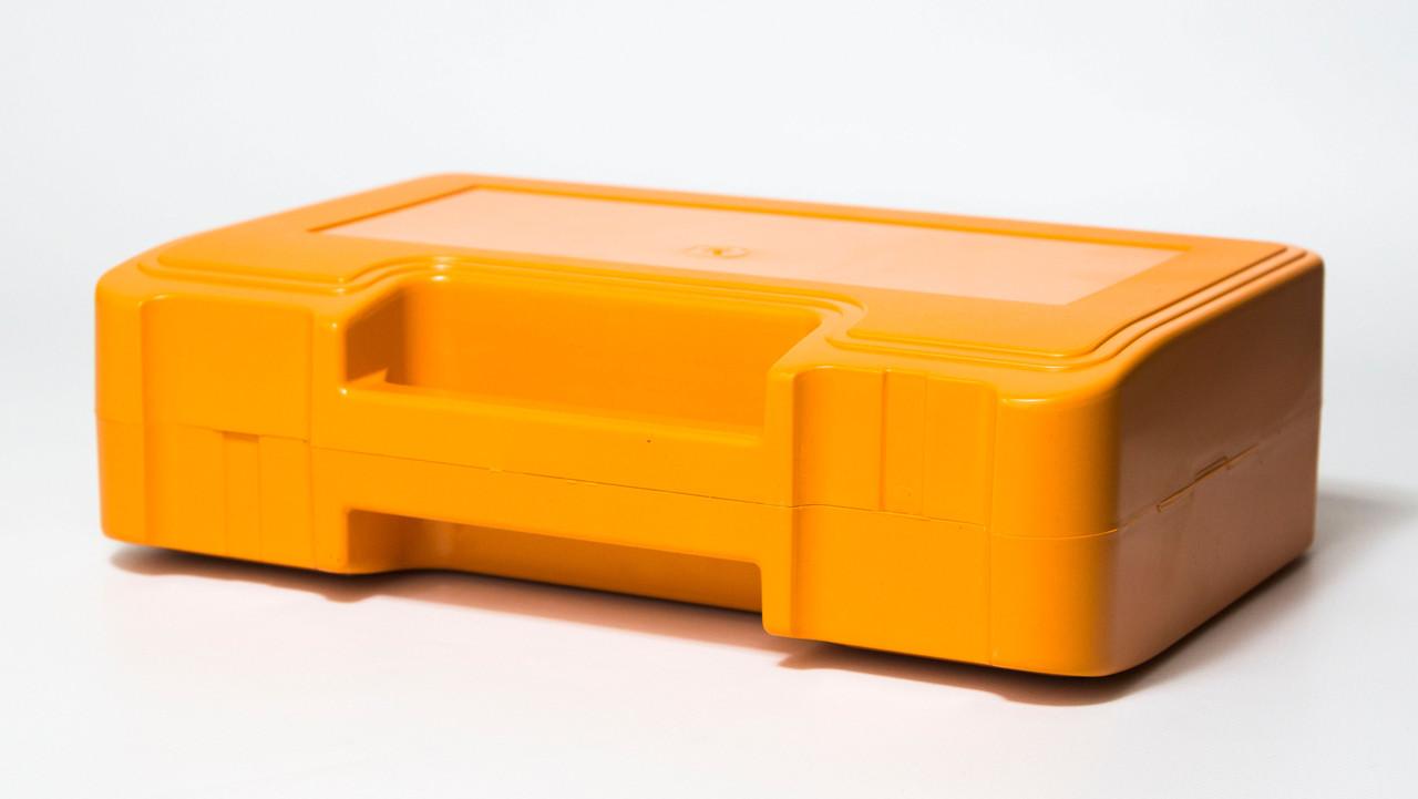 Футляр для аптечки пластиковий (первинний полімер) помаранчевий