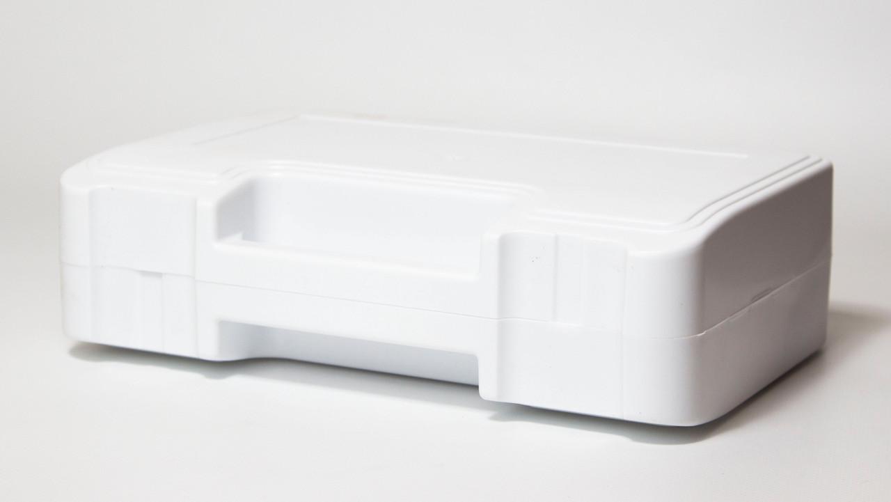 Футляр для аптечки пластиковий (первинний полімер) білий