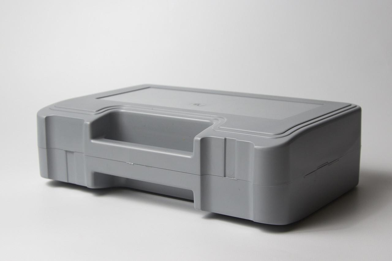 Футляр для аптечки пластиковий (первинний полімер) сірий