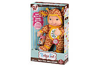 Кукла-пупс Baby's First Sing and Learn Пой и Учись (желтый Жираф), интерактивный пупс, 30 см