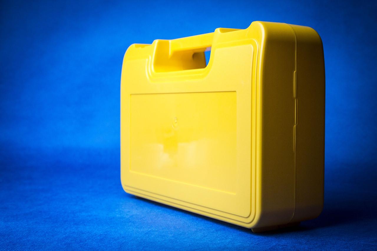 Футляр для аптечки пластиковий (первинний полімер)