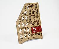 Журнальница деревянная Лоси (154-15110158)