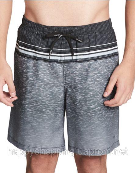Мужские серые плавки  пляжные шорты  Calvin Klein