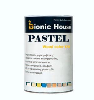 Лазурь для дерева Pastel Wood Color Bionic House 1л