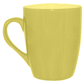 Кружка конус желтая 320 мл, фото 2