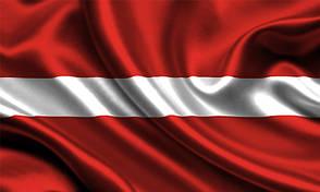 Флаг Латвии