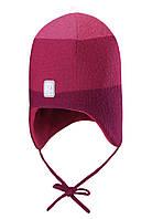 Зимняя шапка-бини для девочки Reima 518466-3601. Размер 48.