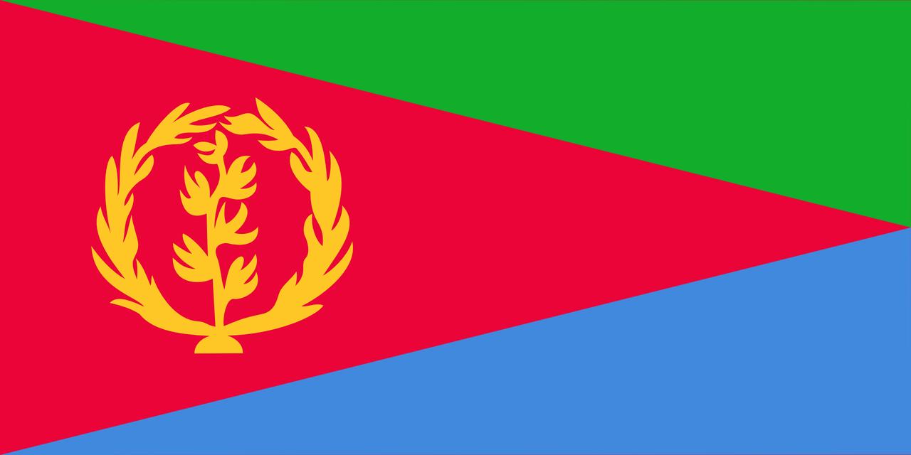 Флаг Эритреи
