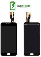 Дисплей (LCD) Meizu M6 Note с сенсором черный