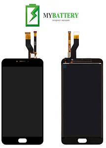 Дисплей (LCD) Meizu M6 Note (M721H) с сенсором черный
