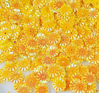 Пайетки круглые 7мм желтые с блеском АВ 3 гр.
