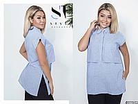 Блузка жіноча ,батал р. 48,50,52,54 ST Style, фото 1