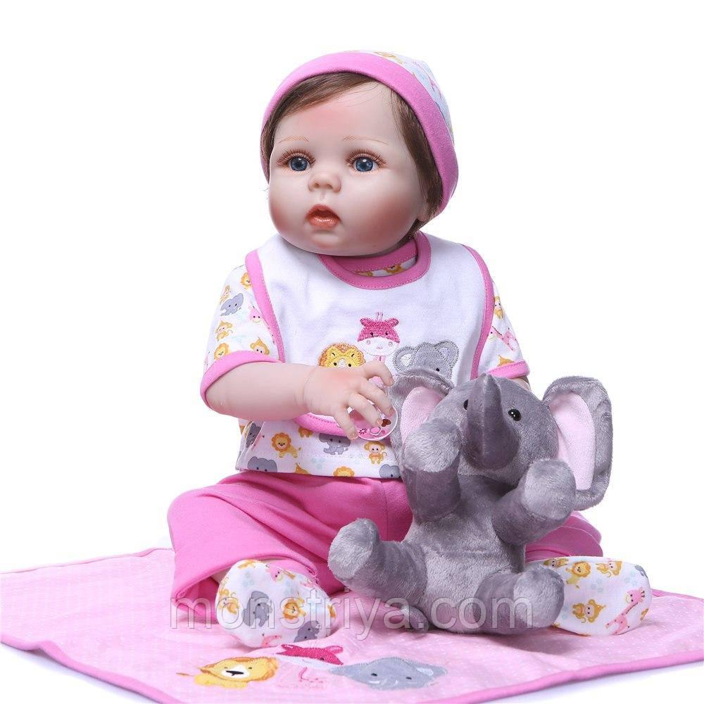 Потрясающая малышка полностью из винил-силикона /Кукла,пупс reborn