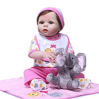 Потрясающая малышка полностью из винил-силикона /Кукла,пупс reborn , фото 1