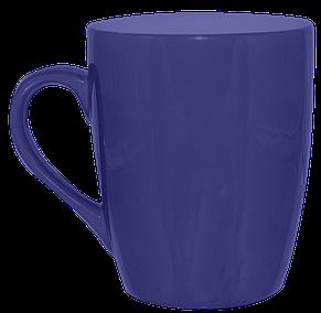 Кружка конус синяя 320 мл, фото 2