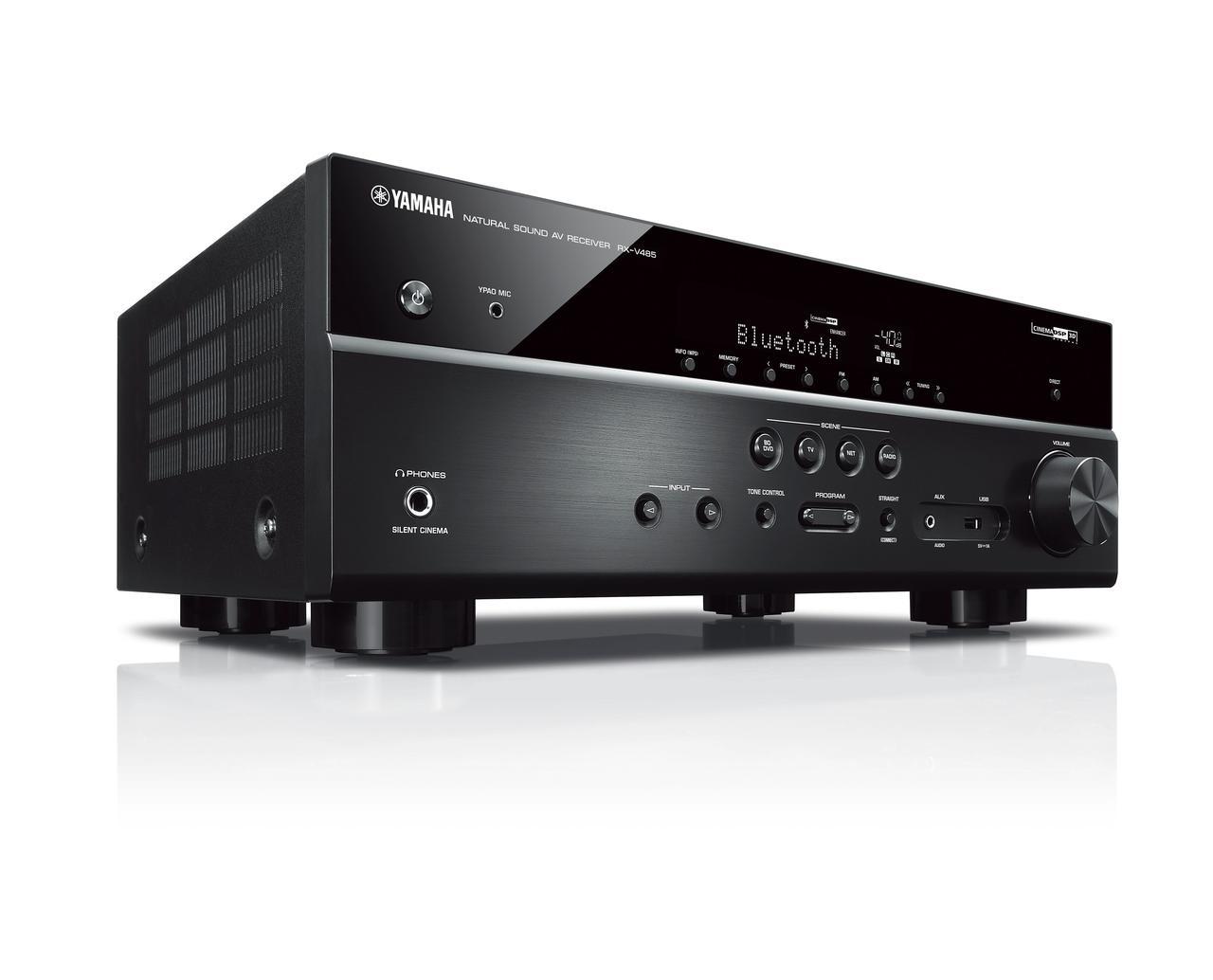 AV-ресивер Yamaha RX-V485 Black