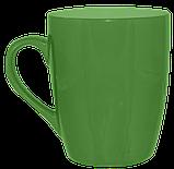 Кружка конус зеленая 320 мл, фото 3