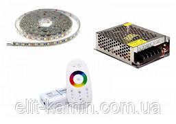 Светодиодное освещение RGB для бани (комплект 1м)