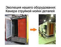 Эволюция нашего оборудования: моечная струйная камера