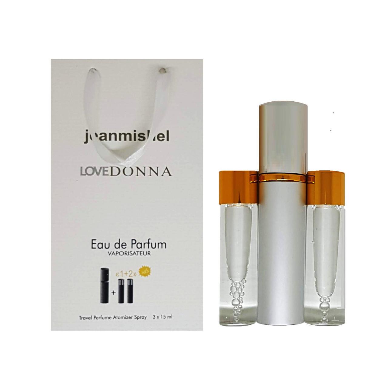 Jeanmishel Love Donna (102) 3 x 15 ml