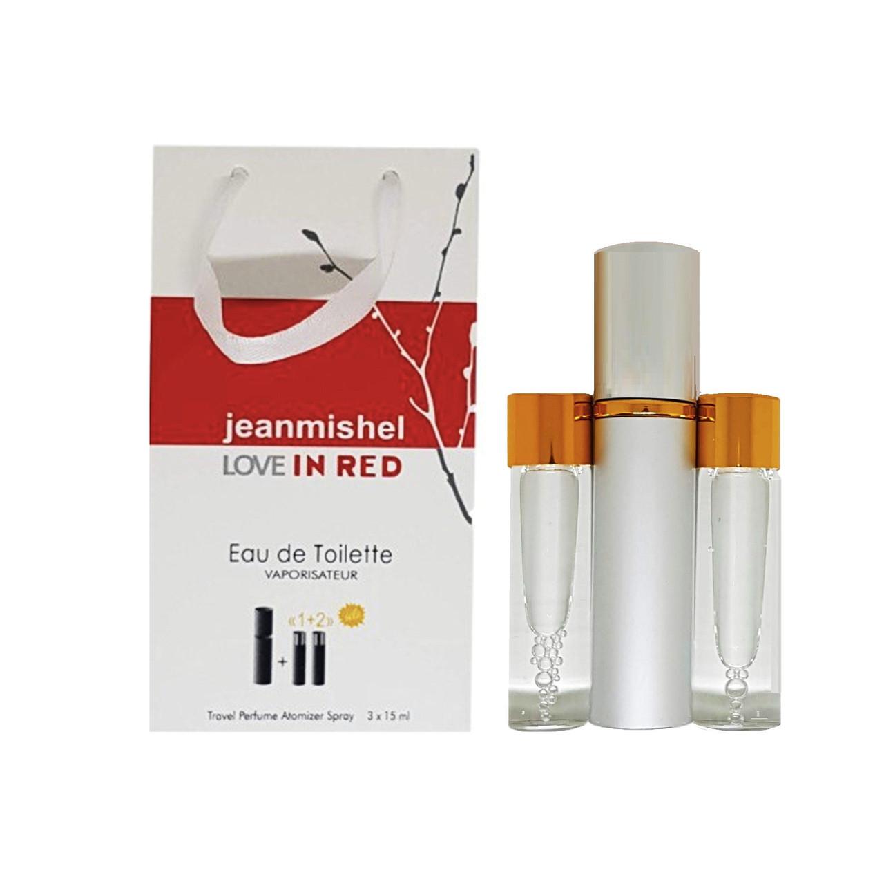 Jeanmishel Love In Red (1) 3 x 15 ml