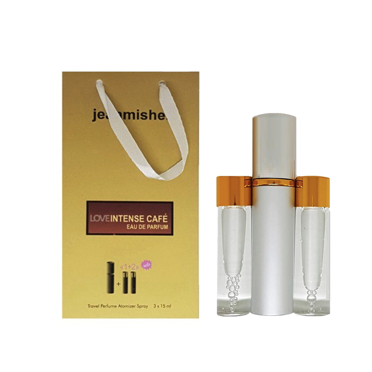 Jeanmishel Love Intense Cafe (93) 3 x 15 ml
