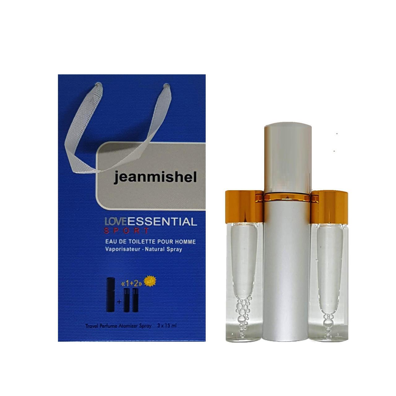 Jeanmishel Love Essential Sport pour homme (55) 3 x 15 ml
