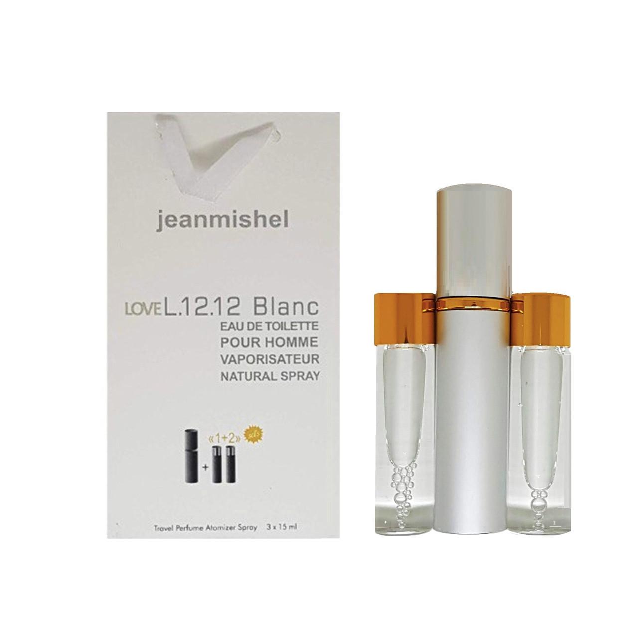 Jeanmishel Love L.12.12 Blanc (87) 3 x 15 ml