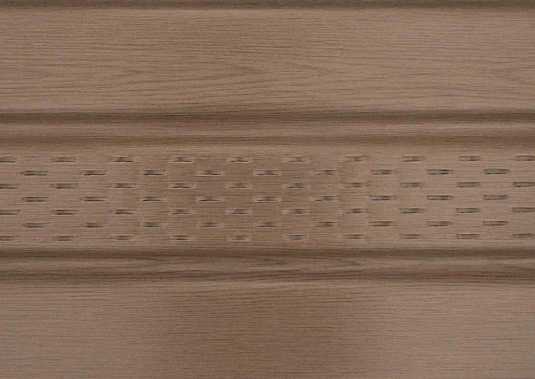 Панель ASKO орех перфорированная 3.5 м, 1.07 м2