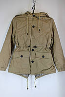 Куртка подростковая весенне-осенняя 085 бежевая XL (9-10 лет)